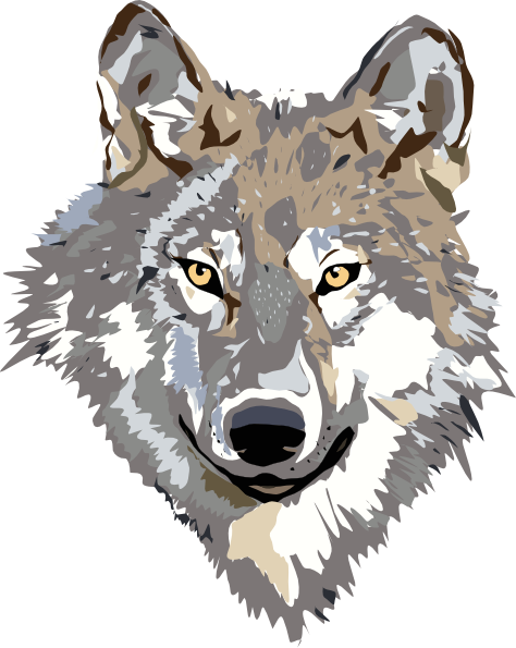 wolf clip art free vector 4vector rh 4vector com clipart wolf pics wolf clipart images