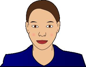 free vector Woman clip art