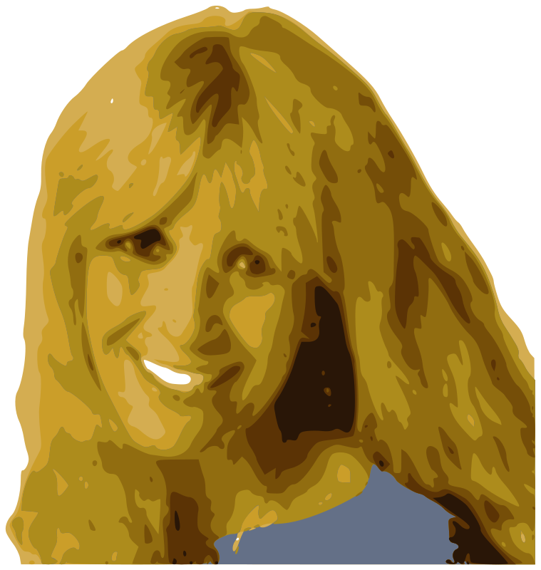 free vector Woman smiling