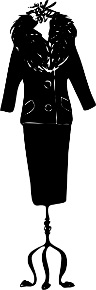 free vector Woman Suit clip art