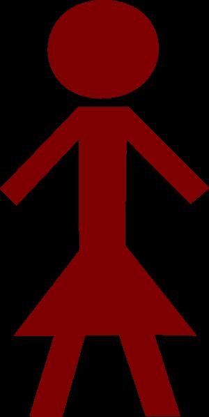 free vector Woman Women Symbol Sign clip art