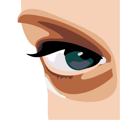 free vector Women glasses vector