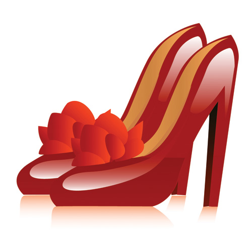 free vector Women high heels vector