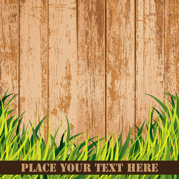 free vector Wood grain background vector