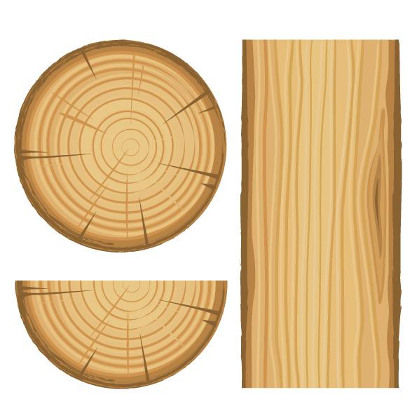 Wood grain vector Free Vector / 4Vector