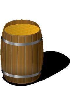 Whiskey Barrel Clip Art
