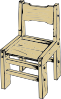 free vector Wooden Chair clip art