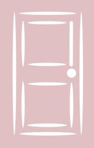 free vector Wooden Room Door clip art