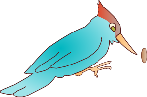 free vector Woodpecker clip art