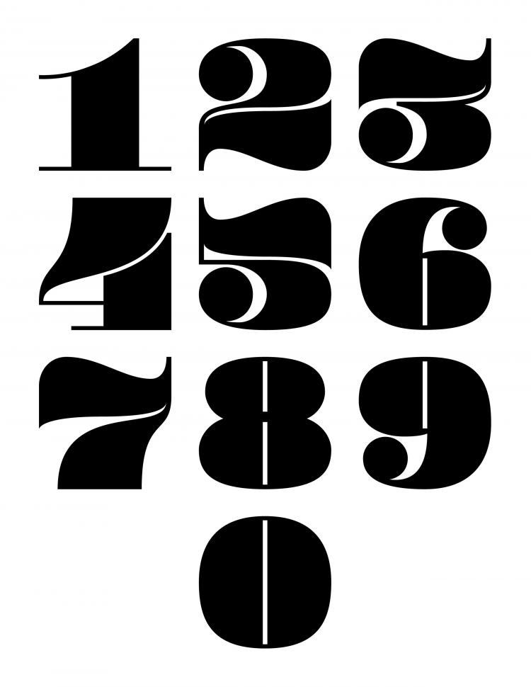 free vector Wordart font design