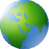 free vector World Globe clip art