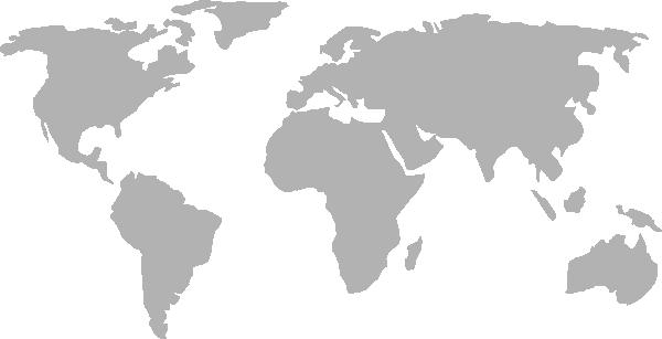 free vector World Map clip art 104870