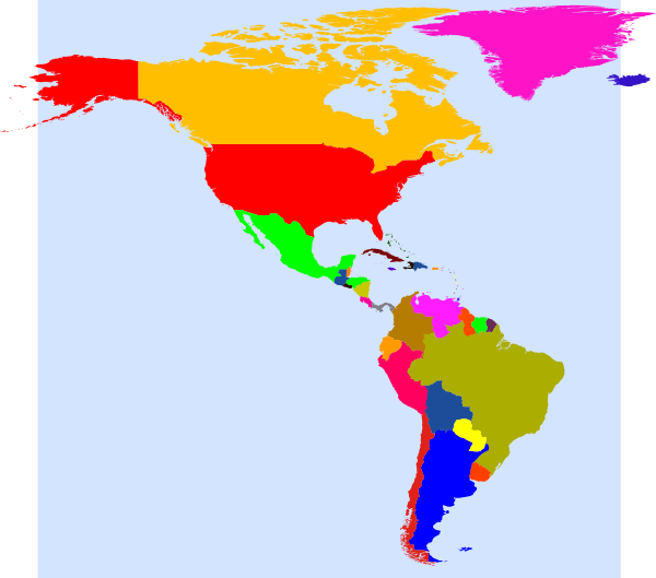 free vector World Map clip art