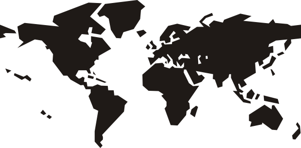 ... Free Vector World Map Clip Art