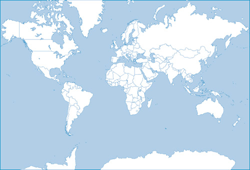 free vector World map silhouette vector 27256