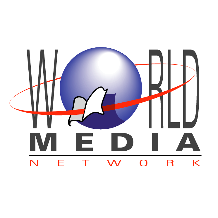 free vector World media network