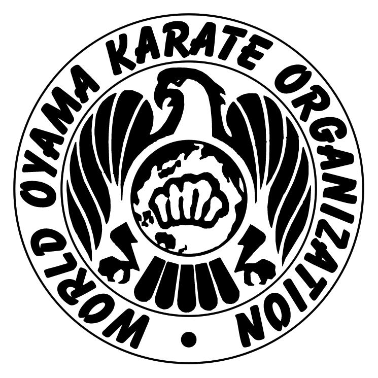 free vector World oyama karate organization