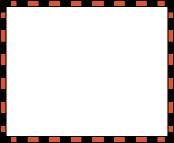 free vector Worldlabel Com Border Orange Black X clip art