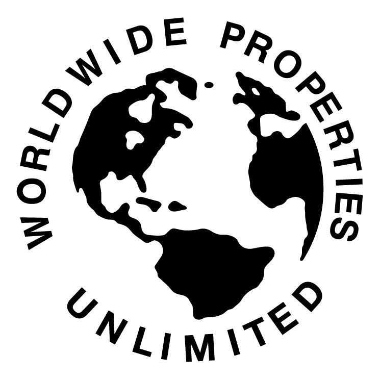 free vector Worldwide properties unlimited