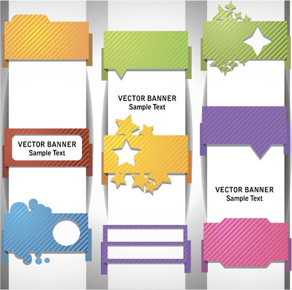 Wrap Angle Banner01vector Free Vector 4vector