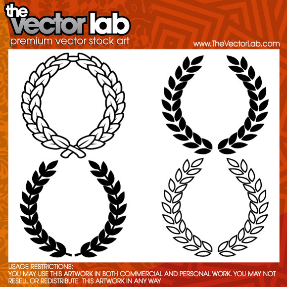 free vector Wreath Vector