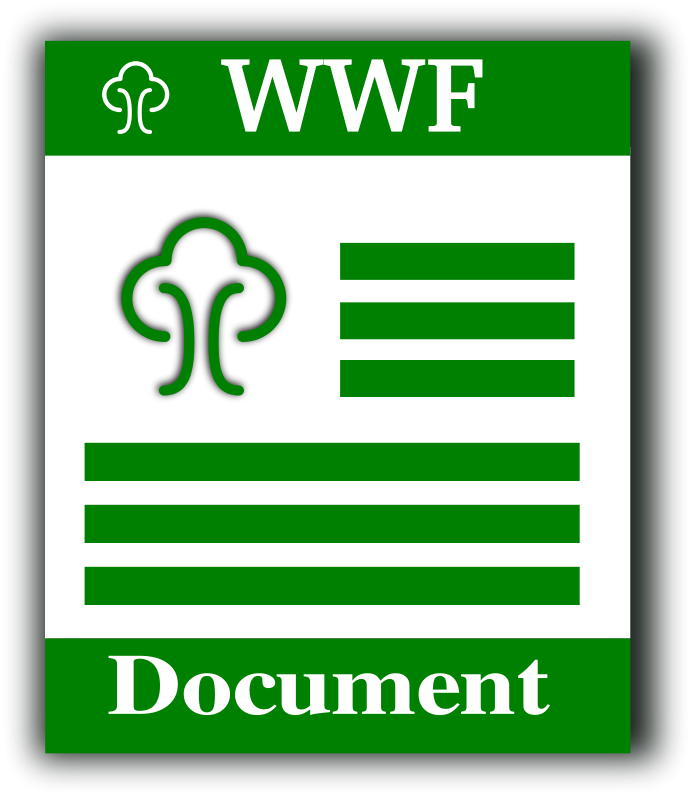free vector WWF format icon