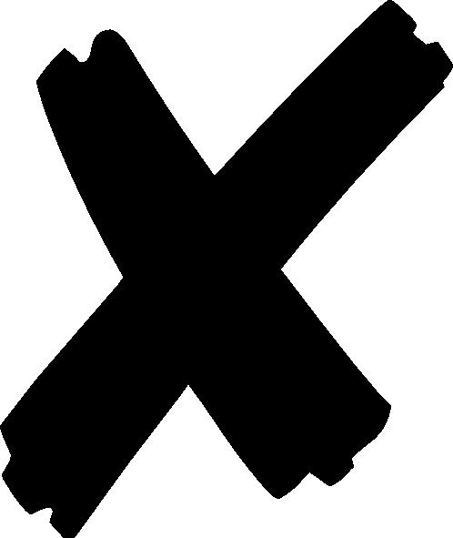 comifree-vector-x-  X Png
