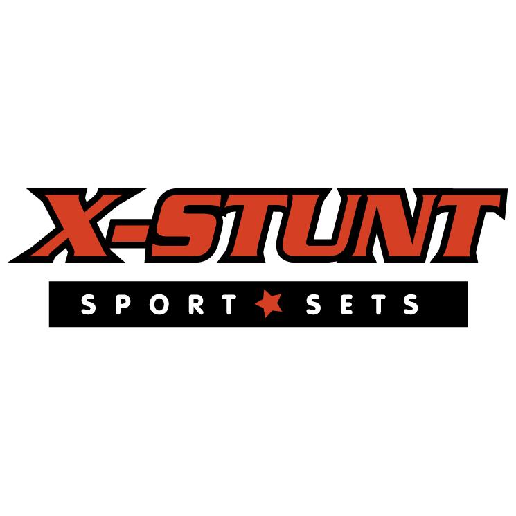 free vector X stunt