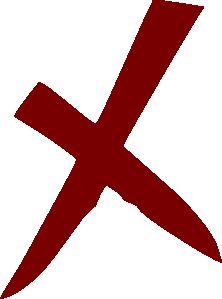 free vector X Wrong No Cross clip art