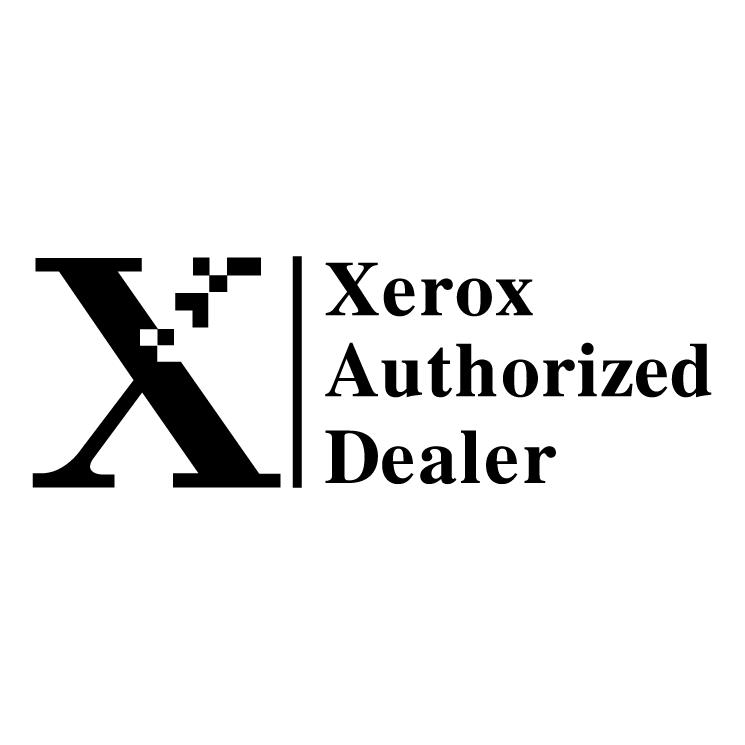 free vector Xerox authorized dealer