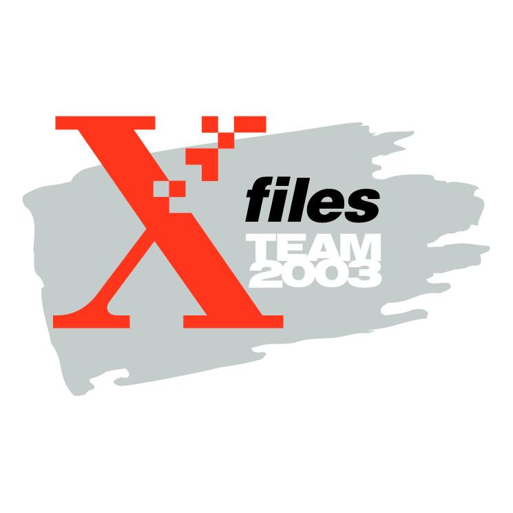 free vector Xerox x filesteam 2003