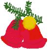 free vector Xmas Bells clip art