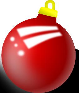 free vector Xmas Ornament Shiney Ball clip art