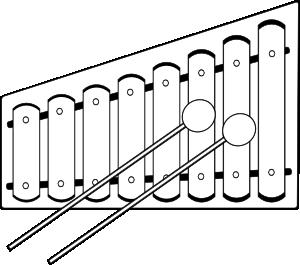 free vector Xylophone clip art