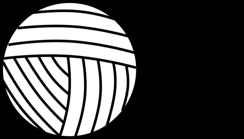 free vector Yarn Line Art