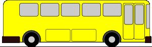 free vector Yellow Bus clip art