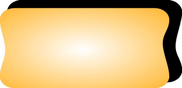 free vector Yellow Button Shadow clip art