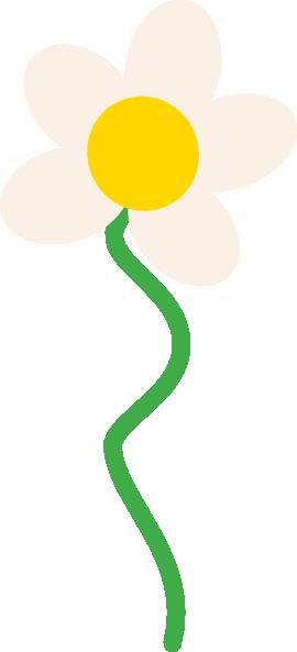 free vector Yellow Flower clip art 114932