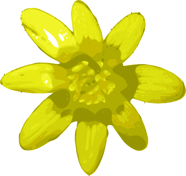 yellow flower vector png - photo #11