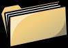free vector Yellow Folder clip art