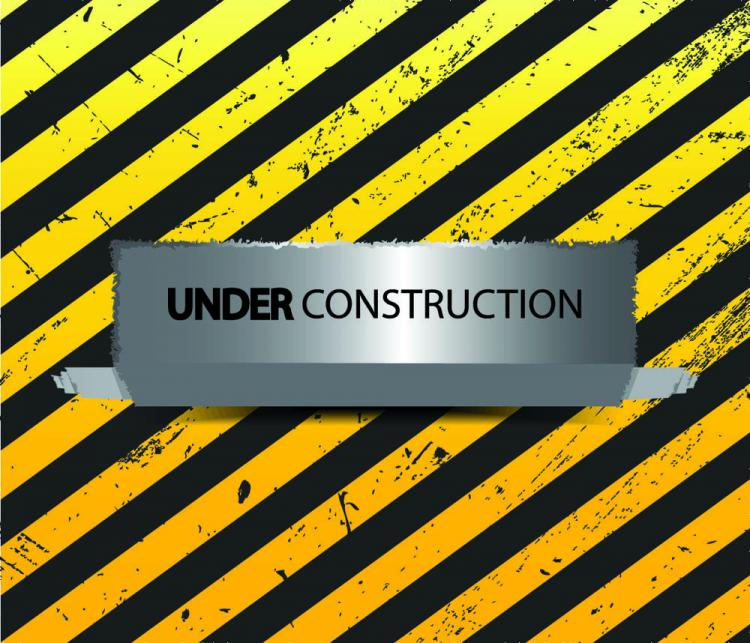 free vector Yellow warning signs 02 vector