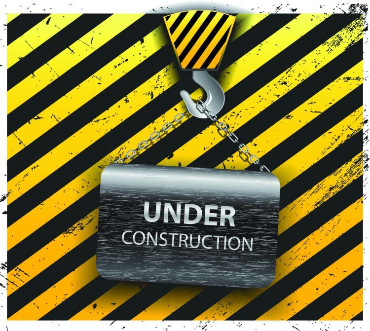 free vector Yellow warning signs 03 vector