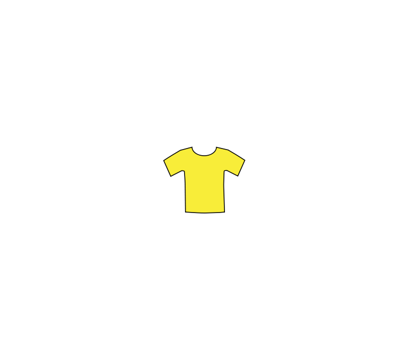 free vector Yellowteeshirt