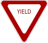 free vector Yield Sign clip art