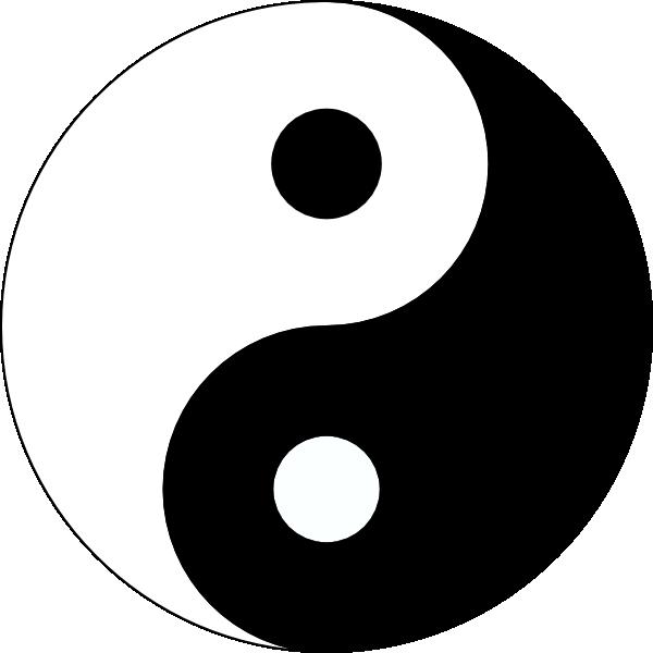 yin yang clip art free vector 4vector rh 4vector com Yin Yang Black and White Clip Art Heart Yin Yang Clip Art
