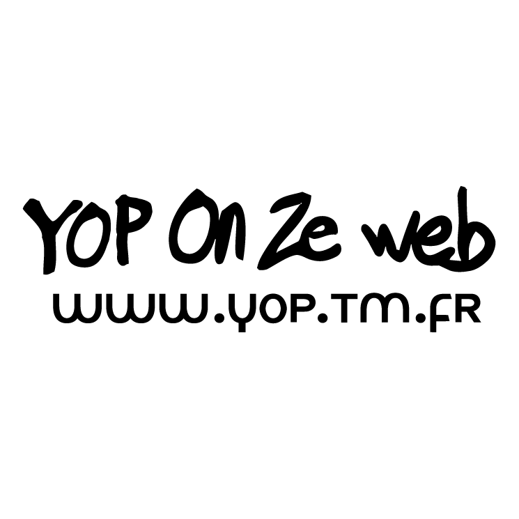 free vector Yop on ze web