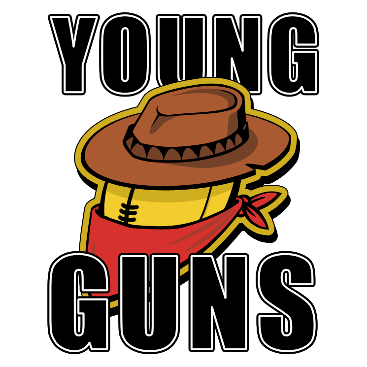 free vector Young guns