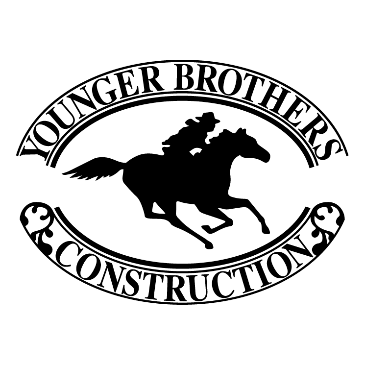 free vector Younger brothers construction