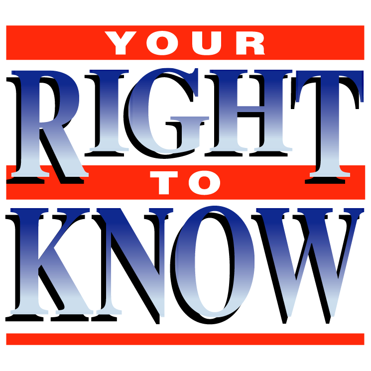 free vector Your right to know