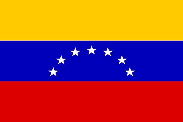 free vector Yves Guillou Venezuela Flag clip art